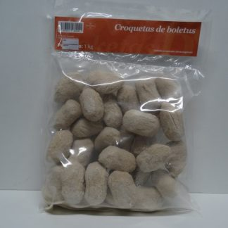 CROQUETAS DE BOLETUS 33 gr CONG.