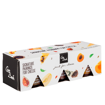 PACK 3X30GR.JUST FOR CHEESE(MANZANA-HIGO-MELOCOTON)