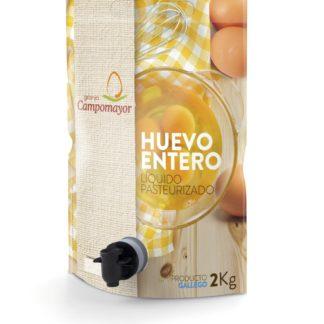 HUEVO ENTERO PASTEURIZADO POUCH 2 KG.CAMPOMAYOR