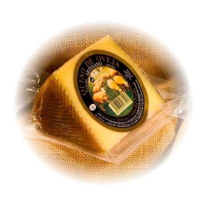 QUESO OVEJA ACEITE CUÑA 400GR.