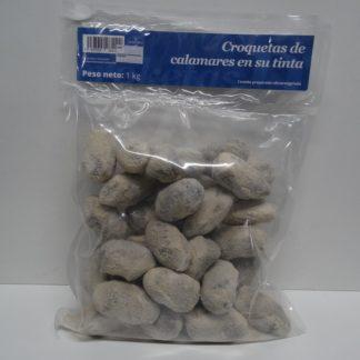 CROQUETA DE CALAMARES EN SU TINTA 33 gr CONG.